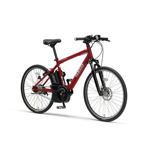 YAMAHA(ヤマハ)2017年モデルPASBraceパスブレイス26型マットレッド電動アシスト完成車【自転車】
