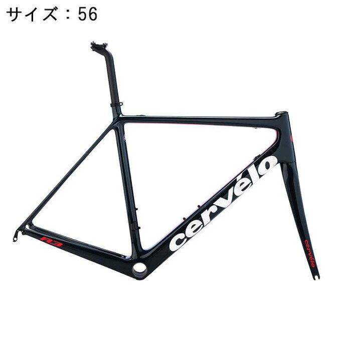 Cervelo(サーべロ) R3 ネイビー/レッド サイズ56 フレームセット【自転...