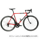 DE ROSA (デローザ)Neoprimato Red Blackサイズ61 (185-190cm)フレームセット 1