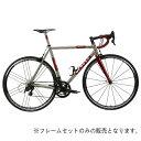 DE ROSA (デローザ)Titanio TREDUECINQUE Ti/Redサイズ49 (168-173cm)フレームセット