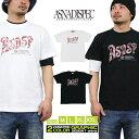 Tシャツ メンズ 半袖 ティーシャツ TEE アスナディスペック アスナ ASNADISPEC XL XXL 2XL 3L 黒 ブラック 白 ホワイト プリント 大きいサイズ B系 ブランド 人気 アメカジ ストリート系 ファッション おしゃれ かっこいい /3045/ asst2234