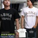 Tシャツ メンズ 半袖 花柄 ティーシャツ アスナディスペック アスナ ASNA ASNADISPEC XL XXL 2XL 3L 黒 ブラック 白 ホワイト プリント 大きいサイズ ブランド 人気 アメカジ ストリート系 ファッション おしゃれ かっこいい /3045/ asst2205