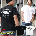 Tシャツ メンズ 半袖 ティーシャツ コンフューズ XL XXL 2XL 3L 黒 ブラック 白 ホワイト プリント 大きいサイズ ワーク ルード系 ブランド 人気 アメカジ ストリート系 ファッション おしゃれ かっこいい /3045/ con-rem-2854