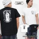 Tシャツ メンズ 半袖 ティーシャツ コンフューズ XL XXL 2XL 3L 黒 ブラック 白 ホワイト マリア プリント 大きいサイズ ワーク ルード系 ブランド 人気 アメカジ ストリート系 ファッション おしゃれ かっこいい /3045/ con-rem-2859