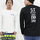 CONFUSE ロンT メンズ 長袖 Tシャツ ロングTシャツ コンフューズ M L XL XXL ロゴ プリント 大きいサイズ アメカジ ワーク /3045/ cflt2925