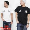 Tシャツ メンズ 半袖 ティーシャツ アイディー EYEDY 黒 ブラック 白 ホワイト プリント 大きいサイズ XL XXL ルード系 ブランド 人気 アメカジ 西海岸 ワーク ストリート系 おしゃれ かっこいい /3045/ id1012