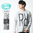 REALCONTENTS ロンT メンズ 長袖 Tシャツ ロ