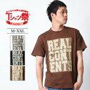 Tシャツ メンズ 半袖 ティーシャツ リアルコンテンツ XL