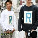 REALCONTENTS ロンT メンズ 長袖 Tシャツ ロングTシャツ リアルコンテンツ リアコン 大きいサイズ ブランド 人気 アメカジ ストリート おしゃれ かっこいい /3045/ rclt1252