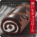 チョコレートを知り尽くしたショコラティエが開発した生チョコロールケーキ【神戸生チョコロー...