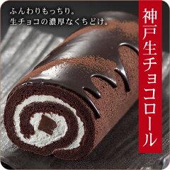 チョコレートを知り尽くしたショコラティエが開発した生チョコロールケーキ【送料無料】生チョ...
