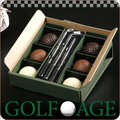 ゴルフ好きな方への贈り物に。【フレーバー付き!】【GOLF AGE】チョコドリ(S)【お父さんに♪】