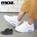 MOZ モズ エアークッション 厚底 ハイテク スニーカー
