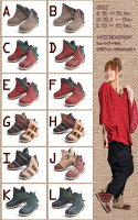 レディースブーツナガ族後ろあみあげ!ショートブーツ|アジアンファッション|エスニックファッション|サルエルパンツ|アジアン雑貨|レディース|メンズ|大きいサイズ|5,400円以上送料無料|サンダル|夏フェス|ワンピース|リュック|マーライ|