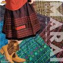 ミディアムスカート/モン族/スカート/ハーフ丈・ひざ丈/モン族に恋してアジカジ!ラブリースカート[アジアンファッション エスニックファッション フレア 民族 重ね着 ウエストゴム 刺繍]|スカート ハーフ丈・ひざ丈 綿(コットン)| メール便送料無料