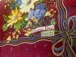 クリスチャン ディオール Christian Dior ハンカチーフ コットン レッド 飾服小物 45×45 cm【中古】[Sランク]