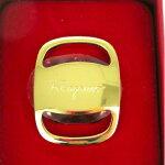 【送料500円可】SalvatoreFerragamoフェラガモヴァラスカーフリング【中古】GL色3971【中古】