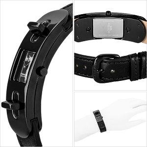 コーチCOACH時計レディース腕時計SWAGGER50mmブラックカーフレザー14502225