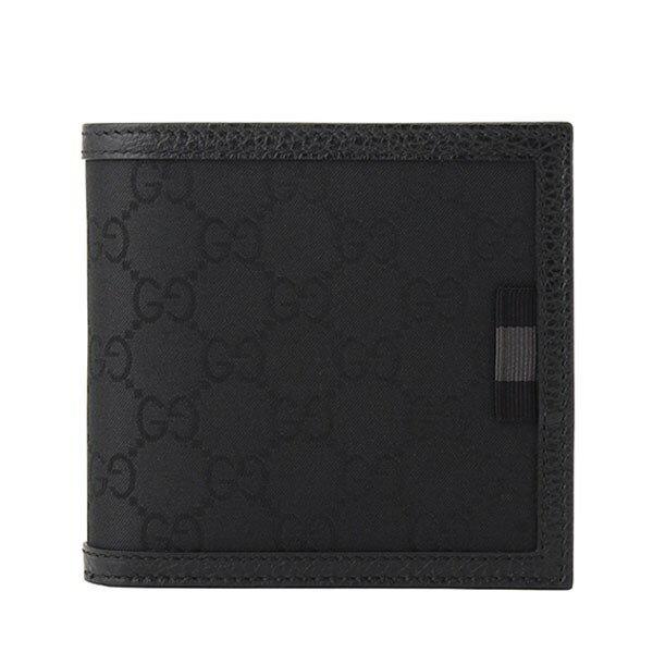 861b2b342910 GUCCI [サイフ ]財布定番人気のGG柄×縁取りのレザーが上品でカッコイイデザインのお財布 です。スリムでバッグの中でもかさ張らずにGOOD!ギフトにもオススメです。