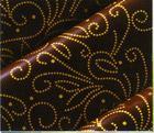 チョコレート用 転写シート(ペルル  金色)25枚 フランス産