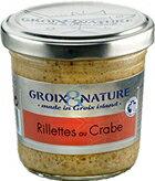 カニ 蟹のリエット フランス グロワ島産 パッケージ変更