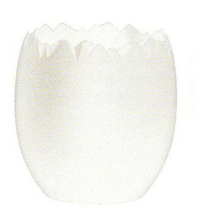 フランス製 オヴェオ ブラン 白 30ml 卵型容器 200個セット  COMATEC(コマテック):輸入食材マルシェ