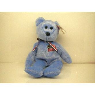 AMERICA bear Beanie Babies