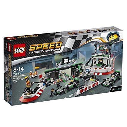 レゴ(LEGO) スピードチャンピオン メルセデスAMG・ペトロナス・フォーミュラワン・チーム 75883【あす楽対応】