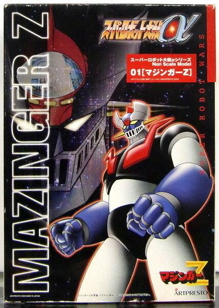 新品  パッケージ傷みあり マジンガーZ「マジンガーZ/スーパーロボット大戦αシリーズ」インジェクションガレージキットアートプ