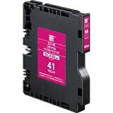 エコリカ(ecorica) 515809 SGカートリッジ マゼンタ GC41M Mサイズ互換 リコー(RICOH)用 リサイクルインク(ECI-RC41M)