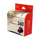 リ・ジェット(ReJET) BC-340 FINEカートリッジ ブラック互換 キヤノン(Canon)用 リサイクルインク(EC340-BK)