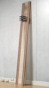 CDラック大容量おしゃれ壁に立てかける・格子状・木製・ウッド・おしゃれ・デザイン・インテリア)/CD-04-S/Ladderシリーズ/マルゲリータ
