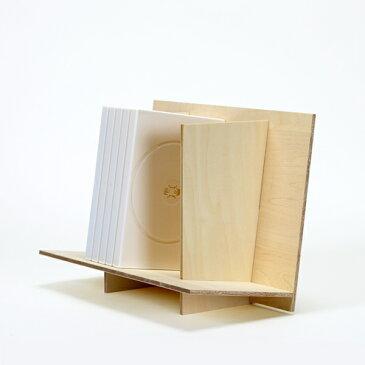 組み立て式DVDスタンド(DVDラック DVD収納 卓上収納)CRT-DVD-10 /マルゲリータ
