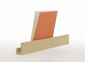 ブックスタンドロング木製(おしゃれ卓上本立てブック立て書見台レシピスタンドブックホルダーカタログスタンドパンフレットスタンド資料スタンドディスプレイスタンド)BS-01/マルゲリータ