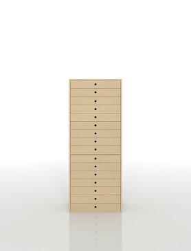 書類収納棚 A3 引き出し 木製 16段(書類棚 書類整理棚 書類ケース 書類ラック 書類入れ 書類チェスト キャビネット 引出し収納 オフィス家具 大容量 マップケース 図面棚)DRW-A3-16 /マルゲリータ