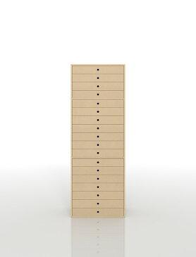 書類収納棚 A3 引き出し 木製 18段(書類棚 書類整理棚 書類ケース 書類ラック 書類入れ 書類チェスト キャビネット 引出し収納 オフィス家具 大容量 マップケース 図面棚)DRW-A3-18 /マルゲリータ
