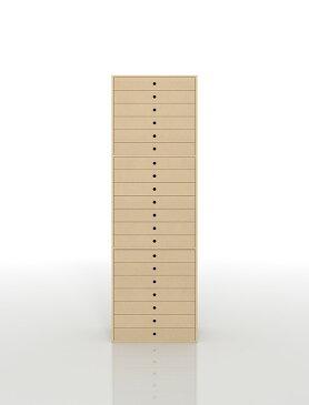 書類収納棚 A3 引き出し 木製 20段(書類棚 書類整理棚 書類ケース 書類ラック 書類入れ 書類チェスト キャビネット 引出し収納 オフィス家具 大容量 マップケース 図面棚)DRW-A3-20 /マルゲリータ