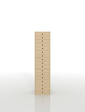 書類収納棚 A4 引き出し 木製 17段(書類棚 書類整理棚 書類ケース 書類ラック 書類入れ 書類チェスト キャビネット 引出し収納 オフィス家具 大容量)DRW-A4-17/マルゲリータ
