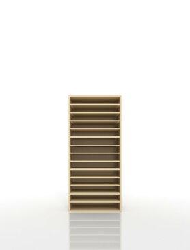 楽譜棚 楽譜 ピアノ A3 14段 木製(書類収納棚 書類整理棚 書類ラック 書類ケース 書類トレー 書類入れ マップケース 図面棚 オフィス家具 大容量 送料無料)/PNO-A3-14 /マルゲリータ