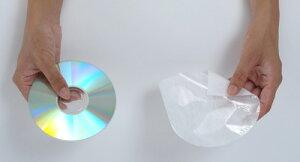 CD用OPP不織布ジャケット丸底200枚セット