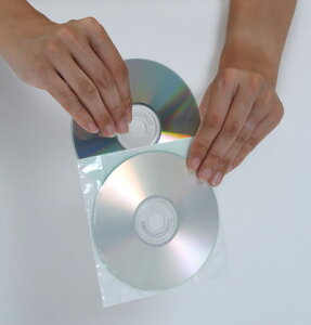 CD用OPP不織布ジャケットダブルポケット200枚セット