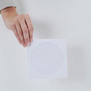 CD用紙ジャケット/封筒型片面セロファン窓付き200枚セット【margherita】