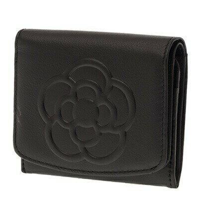 クレイサス財布折財布二つ折りBOXワッフルブラックCLATHAS