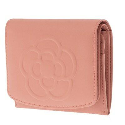 クレイサス財布折財布二つ折りBOXワッフルピンクCLATHAS