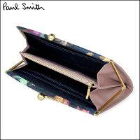正規品ポールスミスポール・スミスフォトグラムアイリストリム長財布ピンク