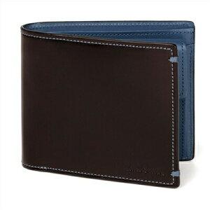 ポールスミス 財布 Paul Smith バッグ ポール・スミス 新品 ポール スミス 正規品 NEWコードバン 2つ折り財布 バーガンディ