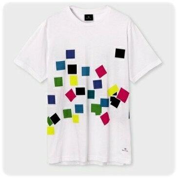 ポールスミス Tシャツ Confetti プリント ホワイト L