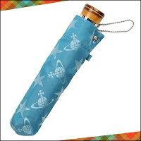 ヴィヴィアンウエストウッドヴィヴィアンウエストウッド正規品VivienneWestwoodヴィヴィアンウエストウッドスター&ORBメンズミニ傘折りたたみ傘ブルー