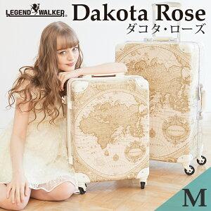 ダコタローズ コラボ スーツケース M サイズ キャリーケース キャリーバッグ  フレーム  WORLD TRUNK ワールドトランク 【7500-60】