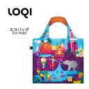 LOQI ローキー Bag Collections メール便なら 送料無料 エコバッグ 収納ポーチ付き バッグ bag セレブ ブランド トートバッグ 修学旅行 海外旅行 メール便なら送料無料 『LOQI-BAG』